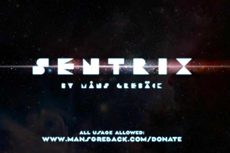 Sentrix Font