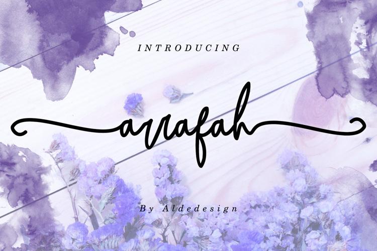 Arrafah Font