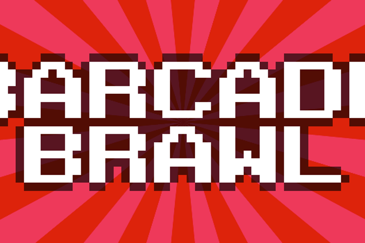 Barcade Brawl Font