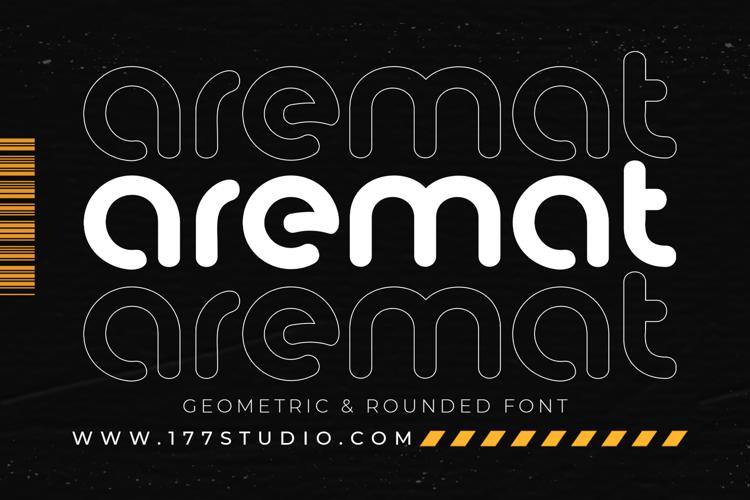 aremat font