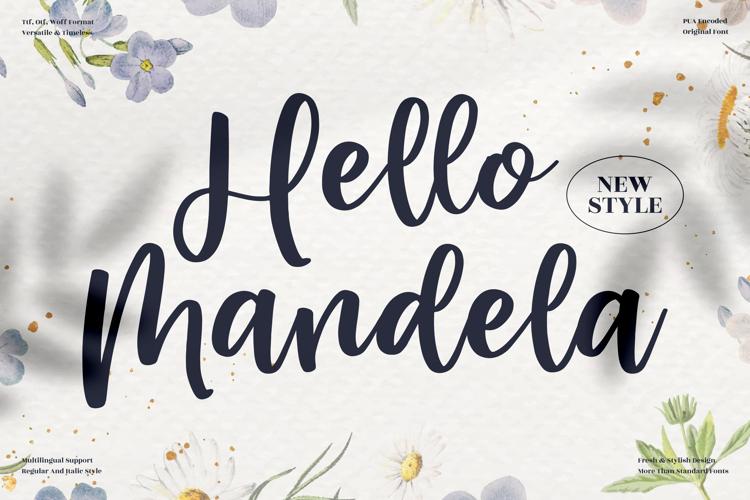 Hello Mandela Font
