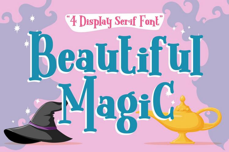 Beautiful Magic Font
