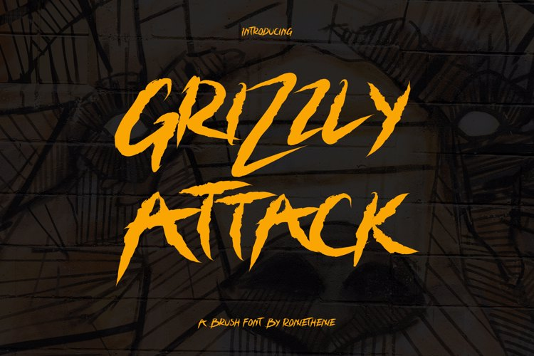 Grizzly Attack Font