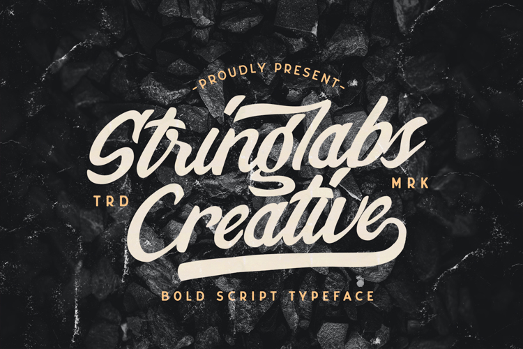 Stringlabs Creative Font