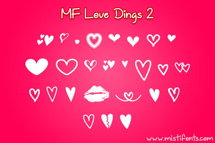 MF Love Dings 2 Font