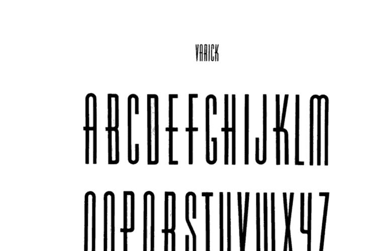 Varicka Font