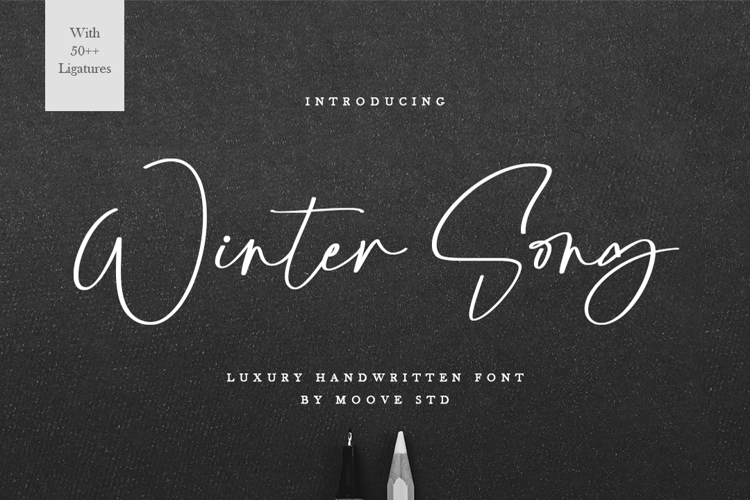 Winter Song Font