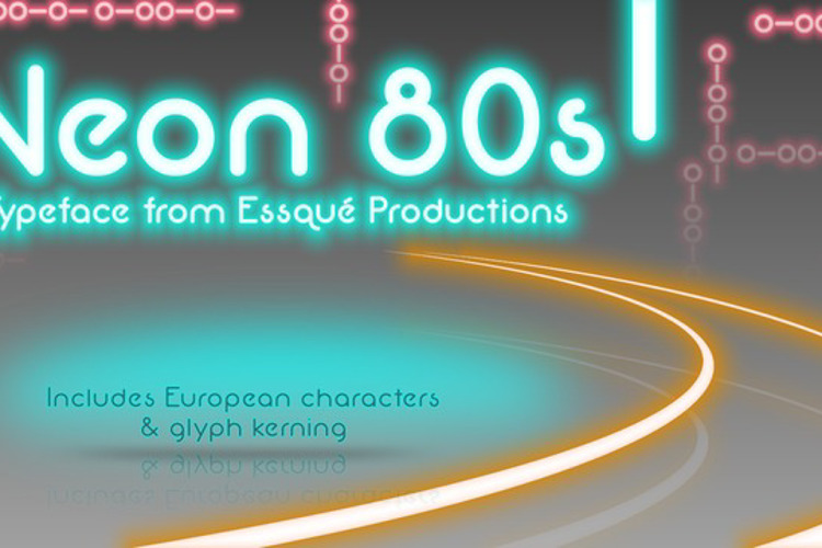 Neon 80s Font