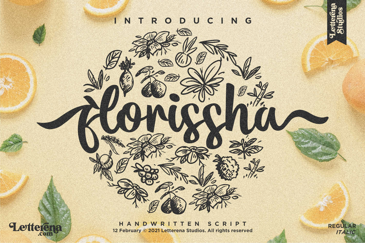 Flourissha Font