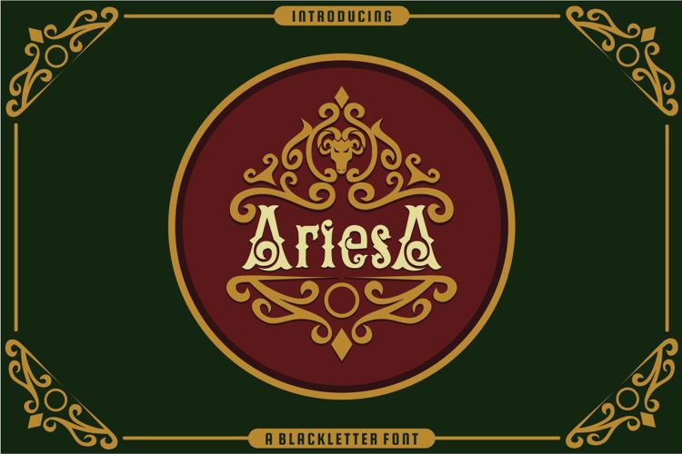 AriesA Font