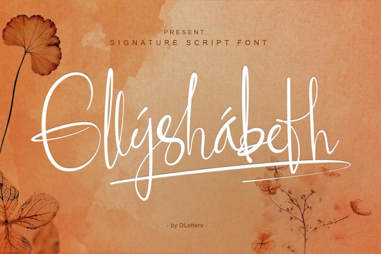 Ellyshabeth Font
