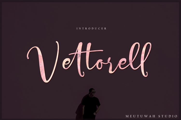 Vettorell free Font