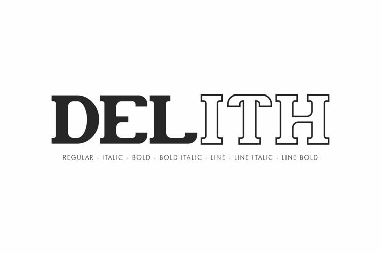 Delith Font