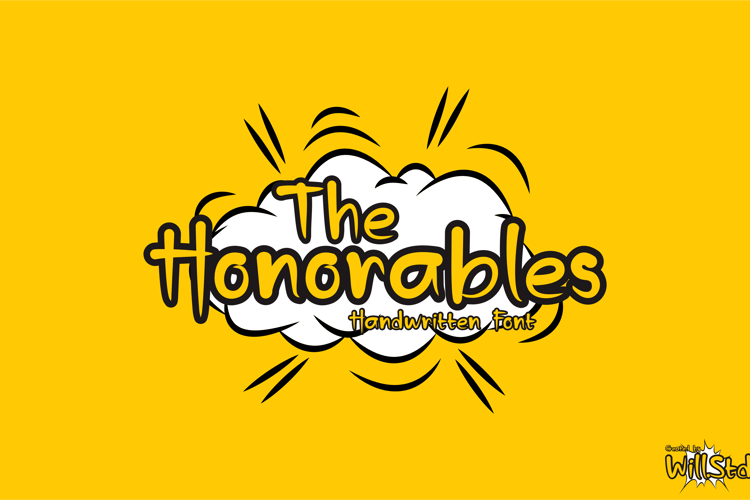 The Honorables Font