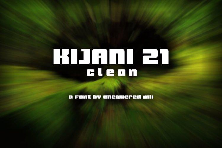 Kijani 21 Clean Font