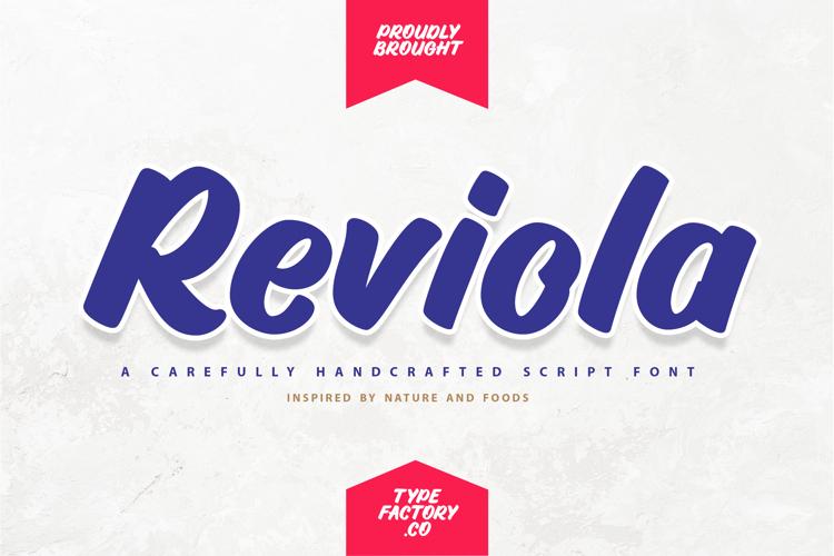 Reviola Font