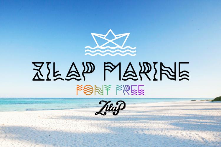 Zilap Marine Font