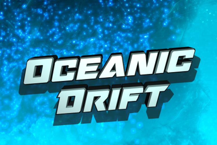 Oceanic Drift Font