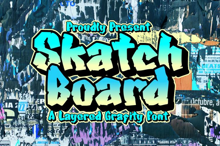 Skatchboard Font