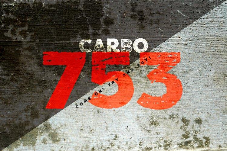 vtks carbo 753 Font