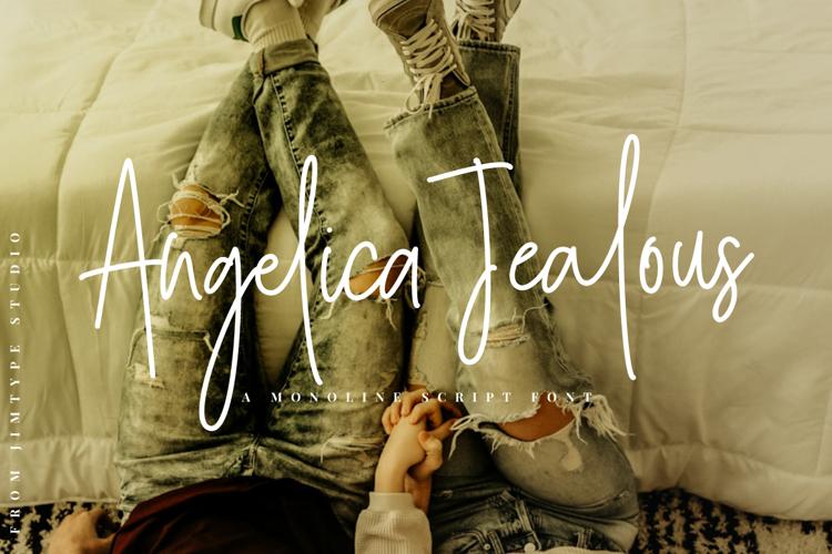 Angelica Jealous Font