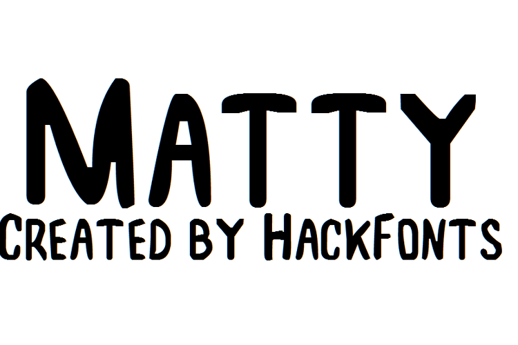 Matty Font