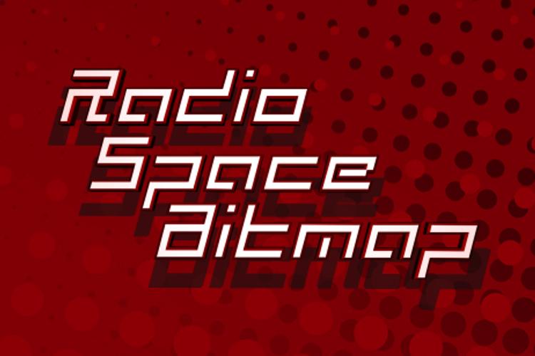 Radio Space Bitmap Font