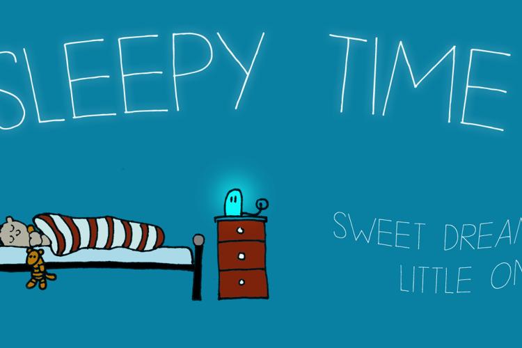 DK Sleepy Time Font