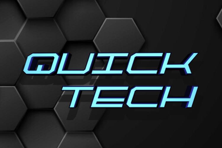 QuickTech Font