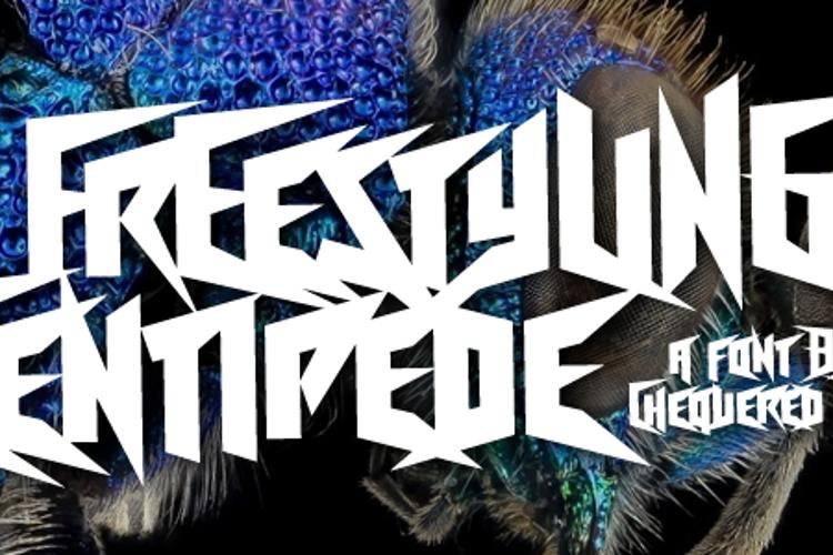 Freestyling Centipede Font