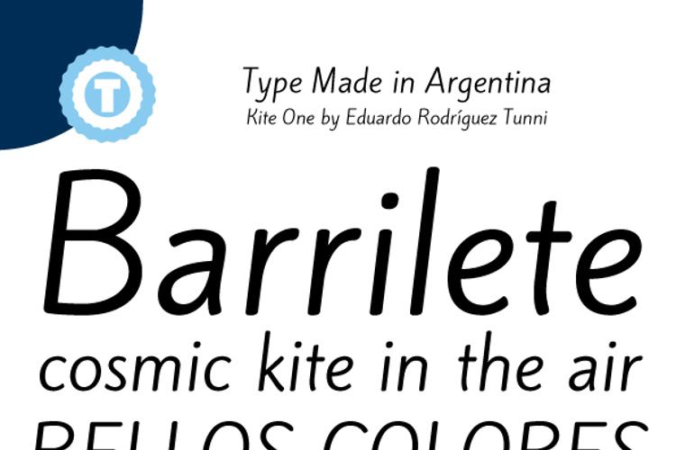 Kite One Font