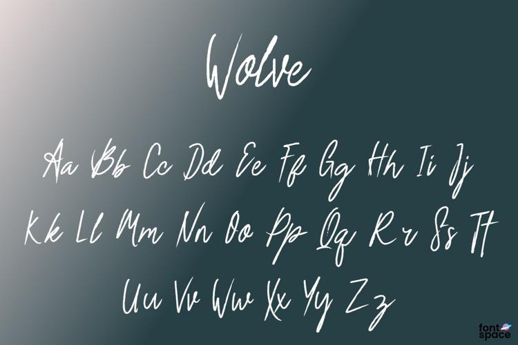 Wolve Font