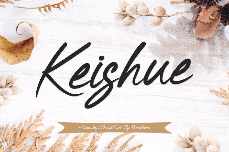 Keishue Font