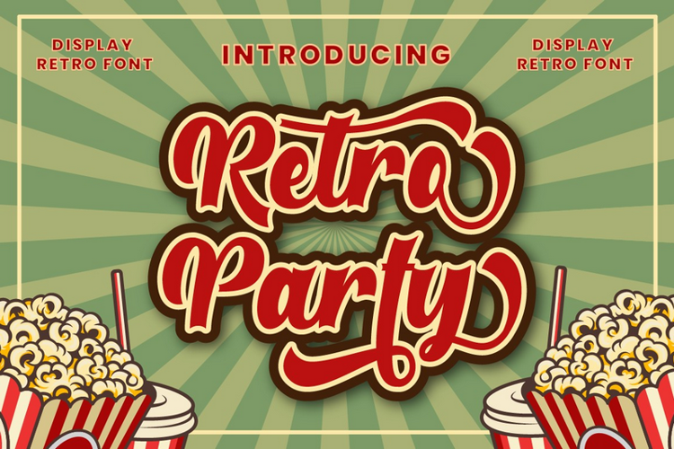 Retroparty Font