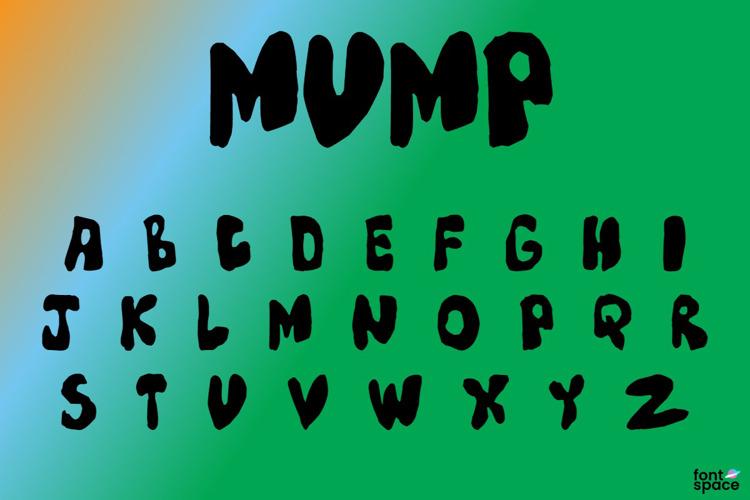 Mump Font