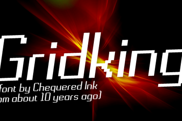 Gridking Font