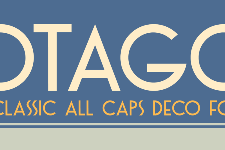 DK Otago Font