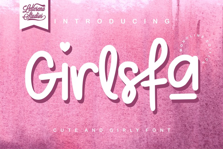 Girlsfa Font