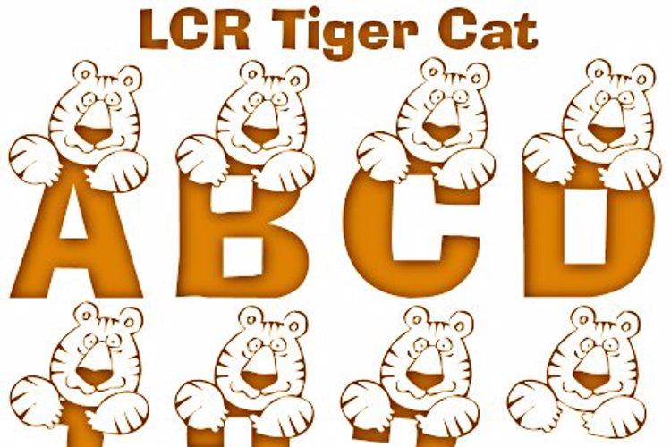 LCR Tiger Cat Font