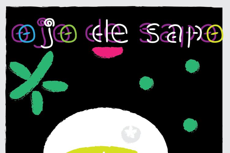ojo de sapo Font