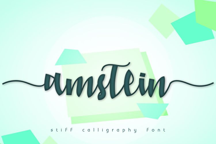 amstein Font