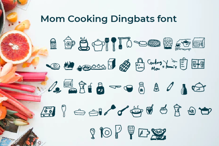 Mom cooking Font