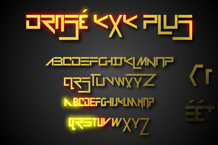 Drosé KXK Plus Font