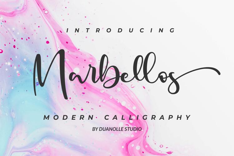 Marbellos Font