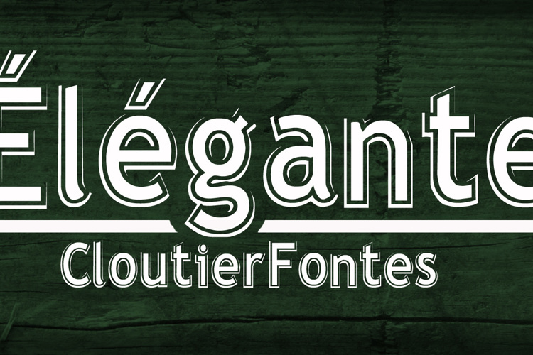 Elegante Regular Font