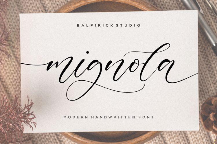 mignola Font