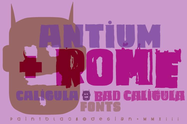 Caligula Font