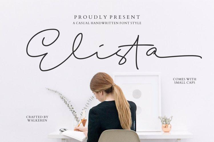 Elista Font