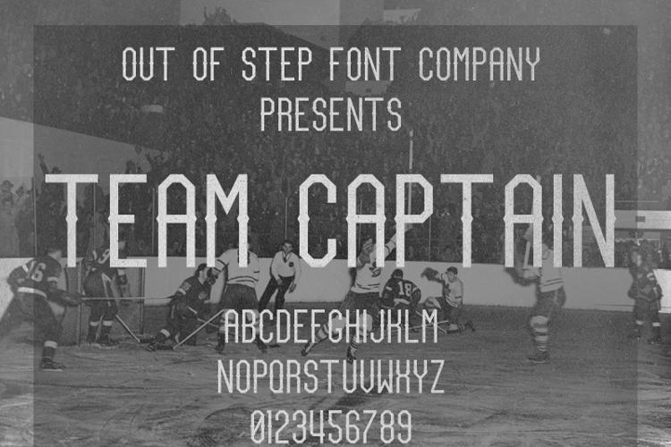 Team Captain Font