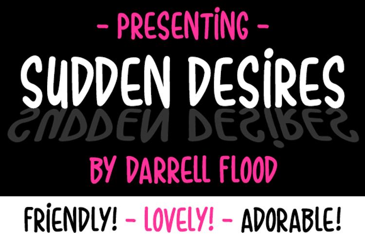 Sudden Desires Font